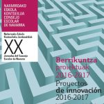 Jornadas sobre Proyectos de Innovación 2016-2017