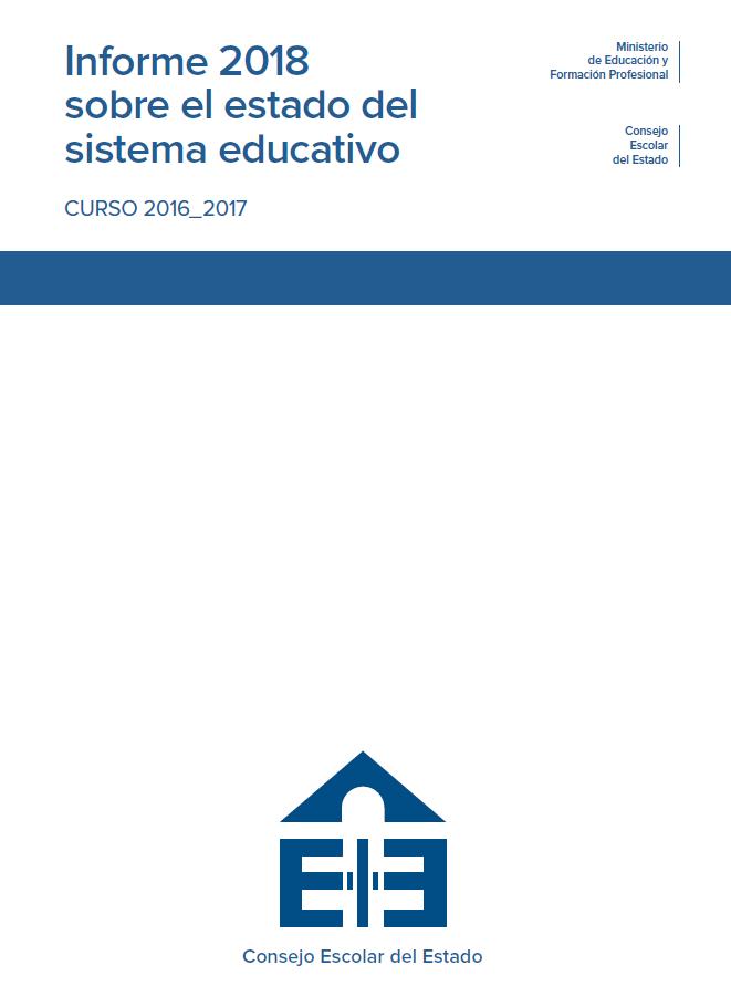 962bf1bf4 Informe 2018 sobre el estado del sistema educativo