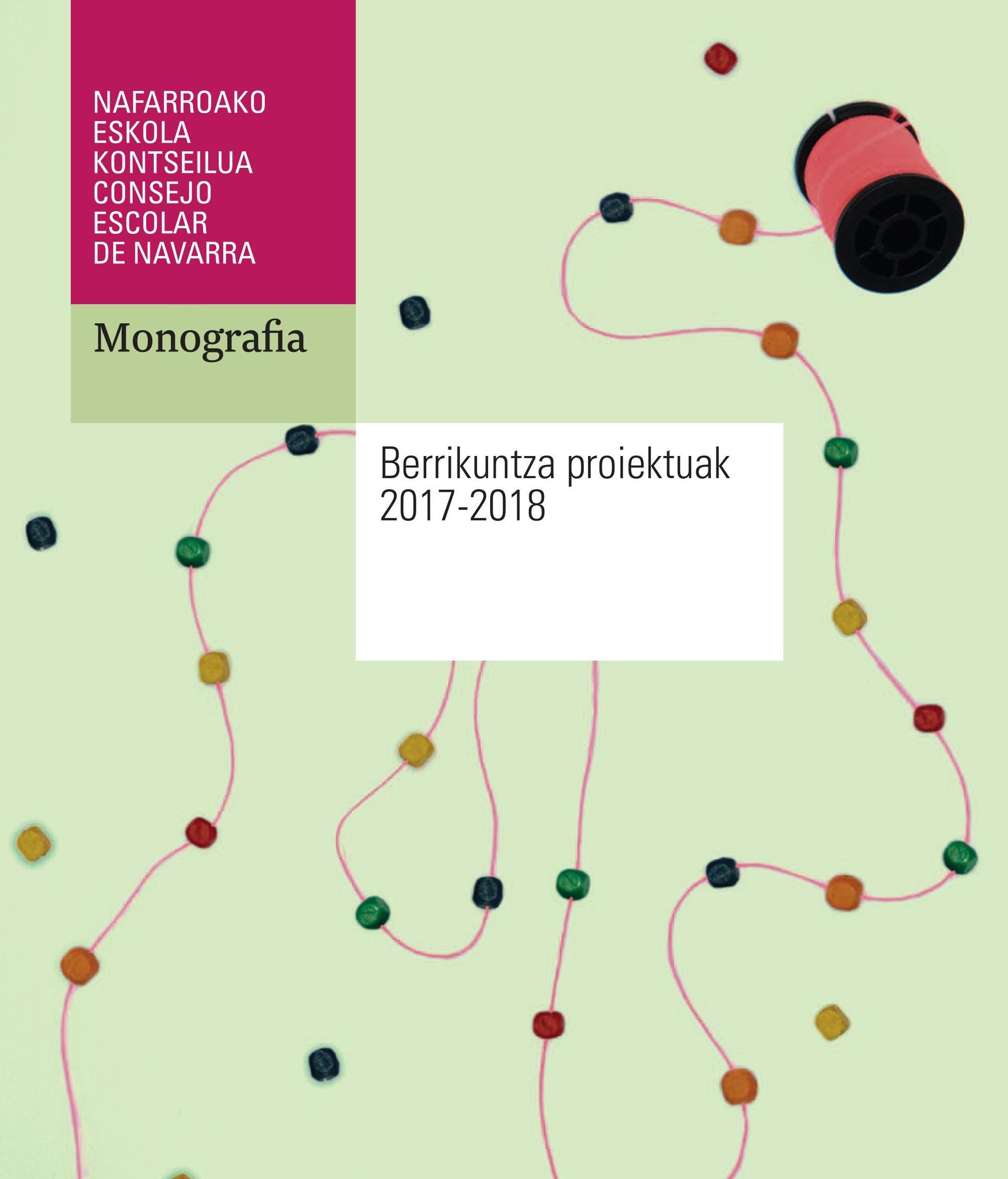 Berrikuntza proiektuak 2017-2018