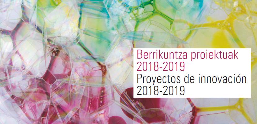 Jornadas XXIV «Proyectos de innovación 2018-19»