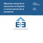 Situación actual de la educación en España a consecuencia de la pandemia